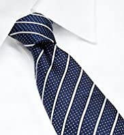 Collezione Pure Silk Spot & Striped Tie