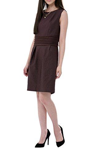 Everyday Elegance Women's Purple Waisted Sheath Business Casual Work Dress (Medium, Purple) (Sailor Outfit Ebay)