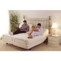Big Sale DynastyMattress 12-inch Split King Deluxe Adjustable Beds Sleep System, Leggett & Platt SCape Made in USA