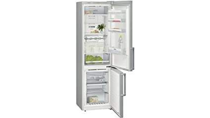 Siemens KG39NVI32 réfrigérateur-congélateur - réfrigérateurs-congélateurs (Autonome, Bas-placé, A++, Argent, SN, T, LED)