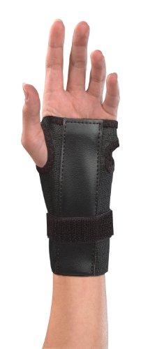 Mueller Wrist Brace W/splint, Black, One Size