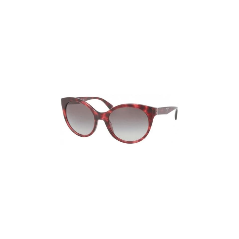 b2d6c9bb99f3d Prada PR23OS Sunglasses KAQ 0A7 Red Havana (Gray Gradient Lens) 56mm ...