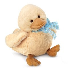 """Diddy Ducky Small with Blue Ribbon 5"""""""