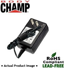 Body Champ Cardio Dual Trainer BRM2610X & BRM3671 Power Supply / AC Adapter