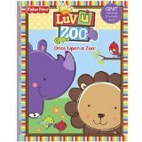 Fisher-Price Luv U Zoo Giant Coloring & Activity Book ~ Once Upon a Zoo - 1