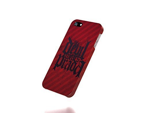 Apple iPhone 5 / 5S Case - The Best 3D Full Wrap iPhone Case - black minimalistic red devil the devil wears prada splatter the devil wears prada logo (Devil Wears Prada Phone Case compare prices)
