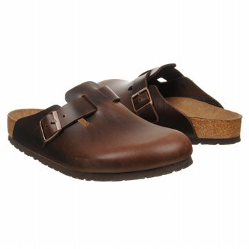 BIRKENSTOCK Men's Boston Soft Footbed (Brown 10.0 M)