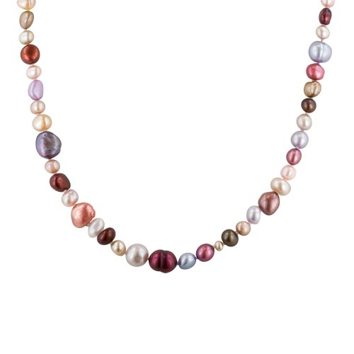 Cool-Tones Freshwater Cultured Pearl Endless Necklace (5-11mm ), 62