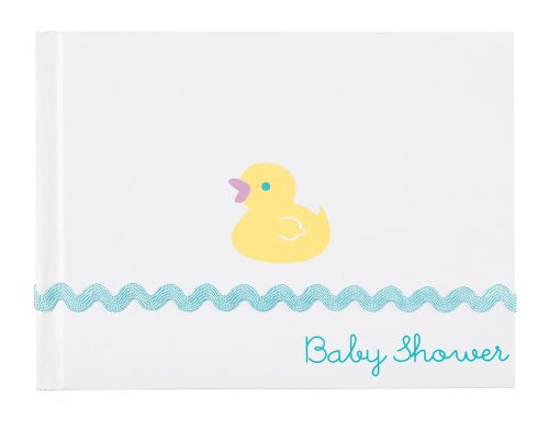 Imagen de Wilton Rubber Ducky libro de invitados, Baby Shower