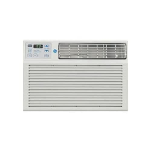 GE AEM05LP 5500 BTU 115 Volt Room Air Conditioner, Energy Star Qualified, Light Cool Gray, Remote Control, Electronic Thermostat, 24 Hour Timer, and 3 Cooling/Fan Speeds