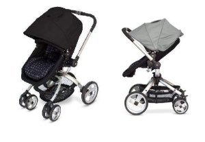 Jj Cole Broadway Stroller With Free Color Swap Canopy- Stone