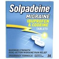 Solpadeine Migraine Tablets Ibuprofen & Codeine 24 Tablets