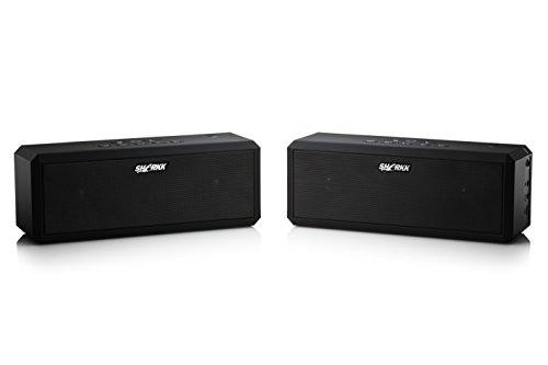 SHARKK-Bluetooth-Speaker-Set-Surround-Sound-Stereo-Speakers- ... - SHARKK® Bluetooth Speaker Set Surround Sound Stereo Speakers Patio