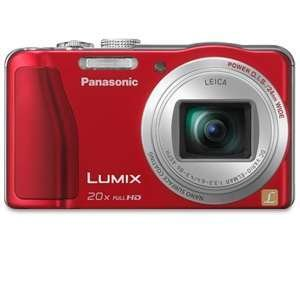 Panasonic Lumix ZS20 14.1 High Sensitivity MOS Digtial Camera with 20x Optical Zoom, Red (DMC-ZS20R) $244