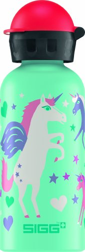 sigg trinkflasche unicorn hellt rkis 0 4 liter. Black Bedroom Furniture Sets. Home Design Ideas