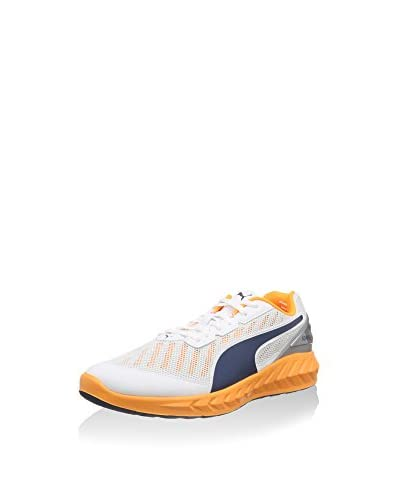 Puma Zapatillas Deportivas Ignite Ultimate Blanco / Naranja / Azul