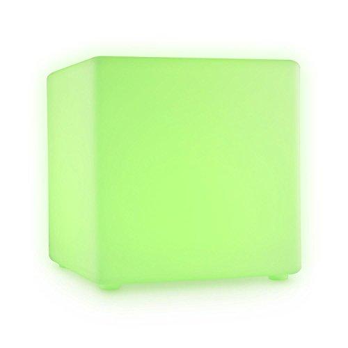 Blumfeldt-Shinecube-LED-Sitzwrfel-40x40x40cm-Leuchtwrfel-16-farbige-LEDs-im-RGB-Spektrum-4-Lichtwechsel-Modi-Dimmerfunktion-1800-mAh-Akku-Schutzart-IP68-wasserdicht-gegen-Regen-oder-Schnee-inkl-Fernbe