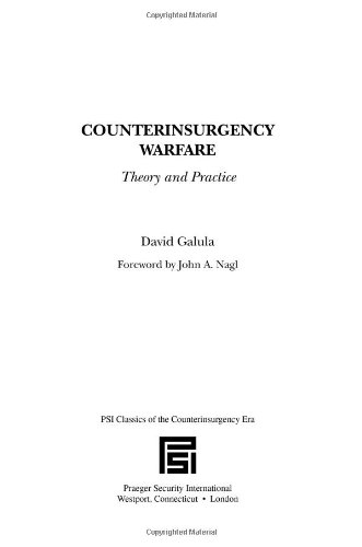 Counterinsurgency Warfare: Theory and Practice (Psi...