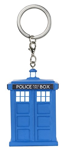 Funko - Portachiave Doctor Who - Tardis Pocket Pop 4Cm - 0849803086893