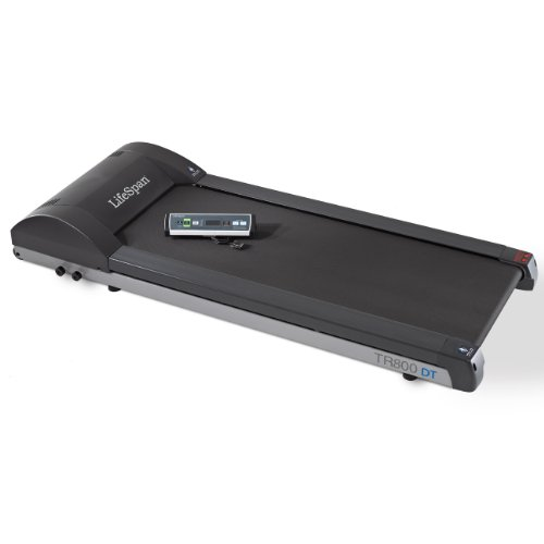 LifeSpan 2013 Model TR800-DT3 Standing Desk Treadmill, Black, Large