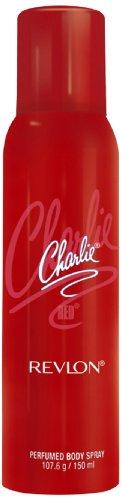 Revlon Charlie Perfume Body Spray, Red, 150ml