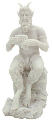 PAN & PAN Flute Faun Satyr Statue