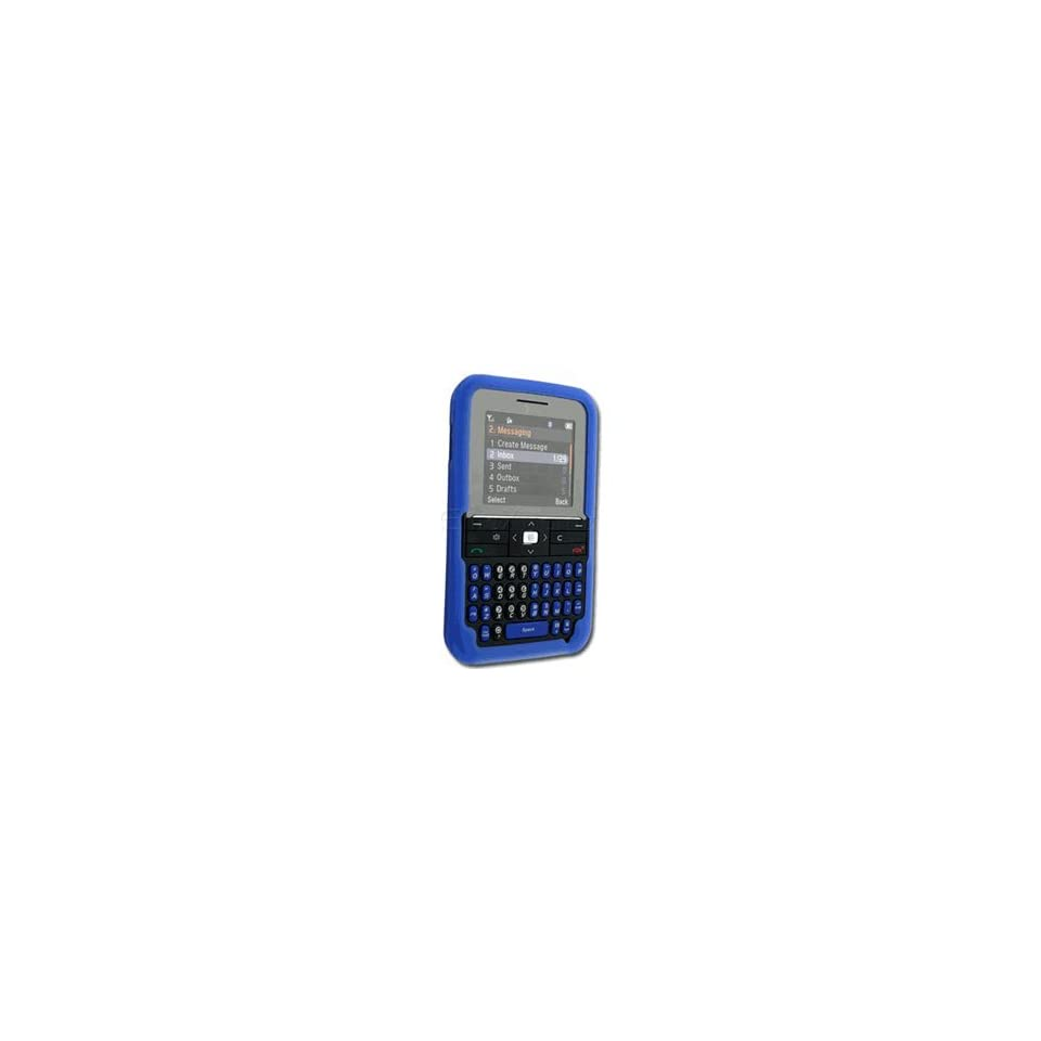 Premium Blue Soft Silicone Skin Gel Cover Case for Pantech