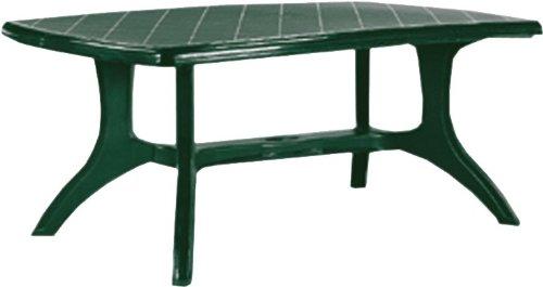 Jardin Wellington Tisch 184x103 grün Boulevardtisch, Vollkunststoff