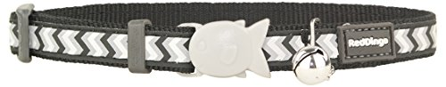 red-dingo-collier-reflechissant-pour-chat-ziggy-noir-taille-s