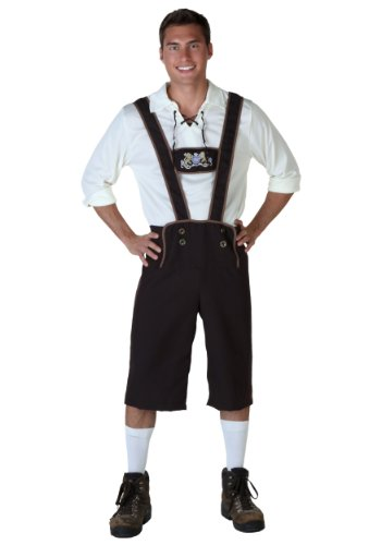 Fun Costumes Men's Plus Size Lederhosen