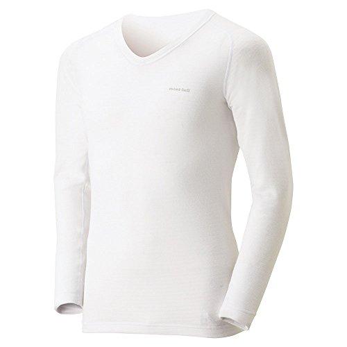 モンベル ジオラインM.W.Vネックシャツ Men