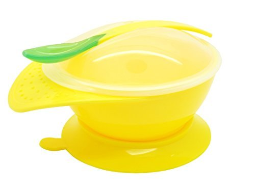 Snug Suction Bowl and Spoon for Baby / Toddler - 1