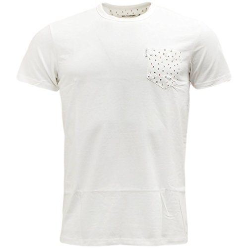 Ben Sherman -  T-shirt - Basic - Maniche corte  - Uomo bianco avorio Medium