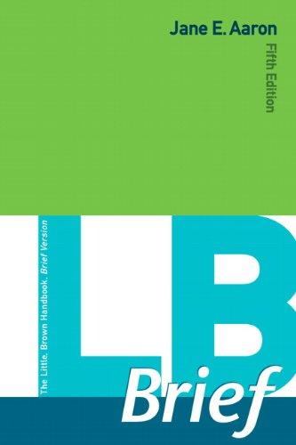 LB  Brief with Tabs
