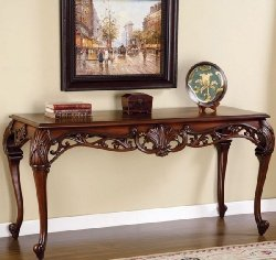 Cheap Masterpiece Rich Mahogany Carved Console Table (B0017LSJFO)