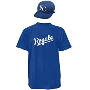 Kansas City Royals Combo MLB CAP & JERSEY Major League Baseball Licensed Replica... by Authentic Sports Shop