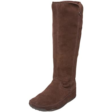 FitFlop Women's Superboot Boot,Chocolate,9 M US