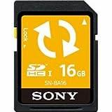 ソニー SDHCメモリーカード 16GB (バックアップ機能付) SN-BA16
