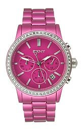 DKNY Chronograph Aluminum Purple Dial Women's watch #NY8323