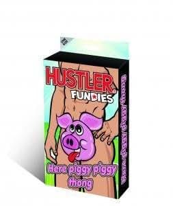 Hustler Lingerie Here Piggy Piggy Thong
