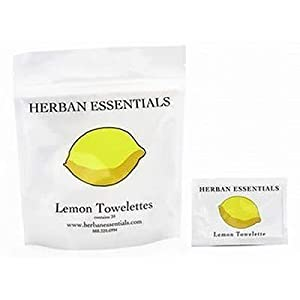 Herban Essentials Lemon Towelettes