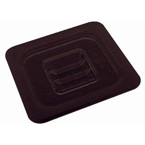 Couvercle pour conteneur en polycarbonate GN Noir. 6.1 gastronorme taille.