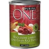 Purina One Wholesome Lamb and Long Grain Rice Entree Canned Dog Food