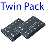 Premium Quality -Twin Pack- 2x Replacement Digital Camera battery for Olympus Li-42B - I-Luv_life