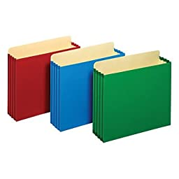 Pendaflex® Color Project Rip-proof File Pockets, Assorted Colors,1 Pack Of 4
