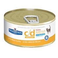 Hill'S Prescription Diet C/D Multicare Bladder Health - Seafood Cat Food (24 5.5-Oz Cans)