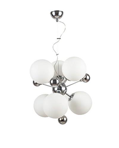 Minimal Lights kroonluchter Optima wit