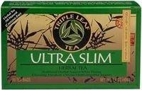 Triple Leaf Tea Ultra Slim Tea Decaffeinated - 20 Tea Bags (Pack Of 6)