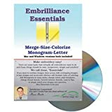 Embrilliance Essentials Embroidery Machine Software