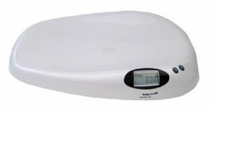 Adam Equipment Baby Infant Scale 44X0.01 Lb / 20Kg X 10G,Ac Adapter And Battery front-875863